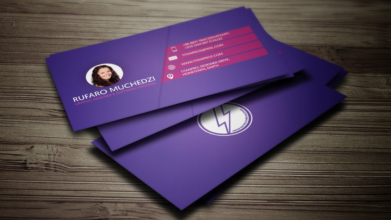 attractive business cards within 10 hours.