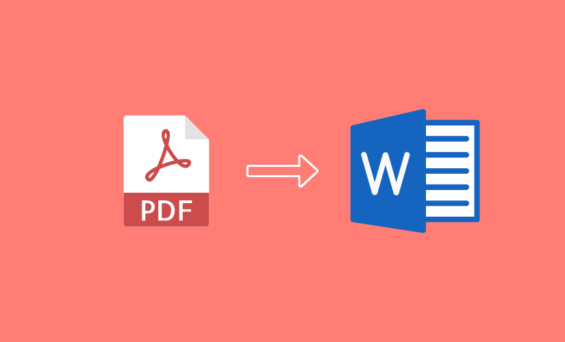 I will convert your pdf to word quickly