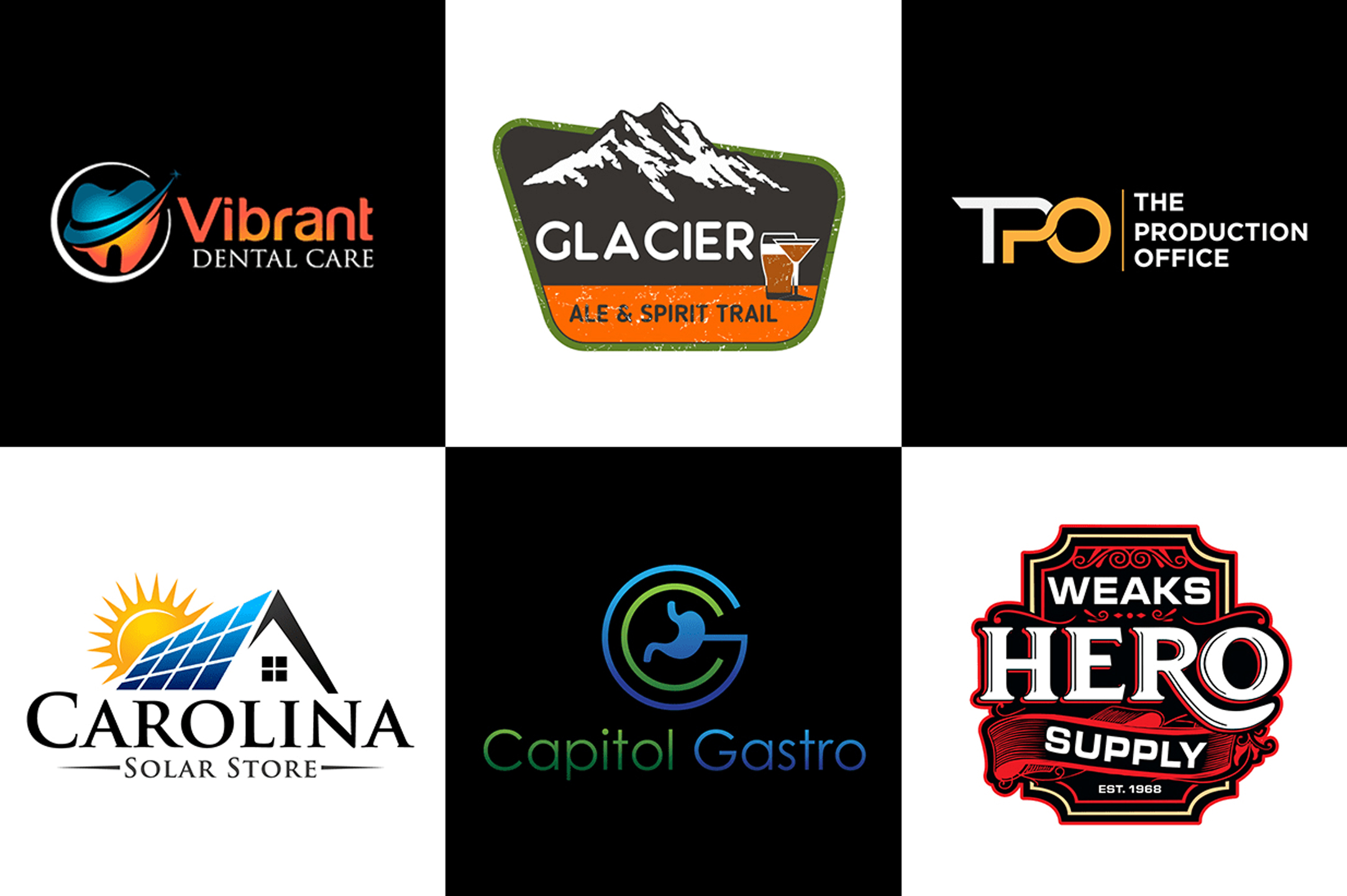 I will design professional brand or business logo