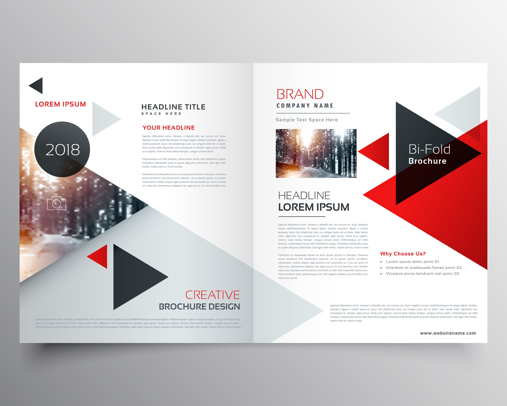 Design your company catalog / booklet