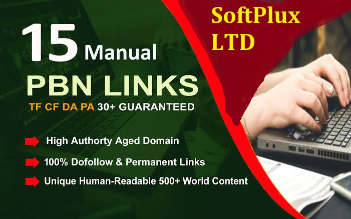 I will Do manual 15 pbn post backlinks high quality DF links