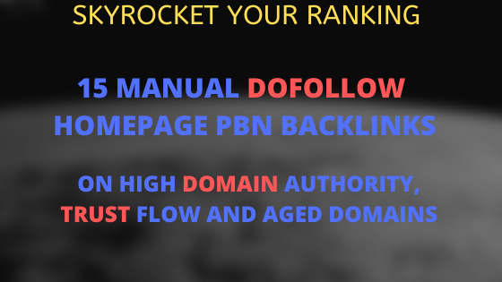 Create 15 Manual Dofollow Homepage PBN Seo Backlinks