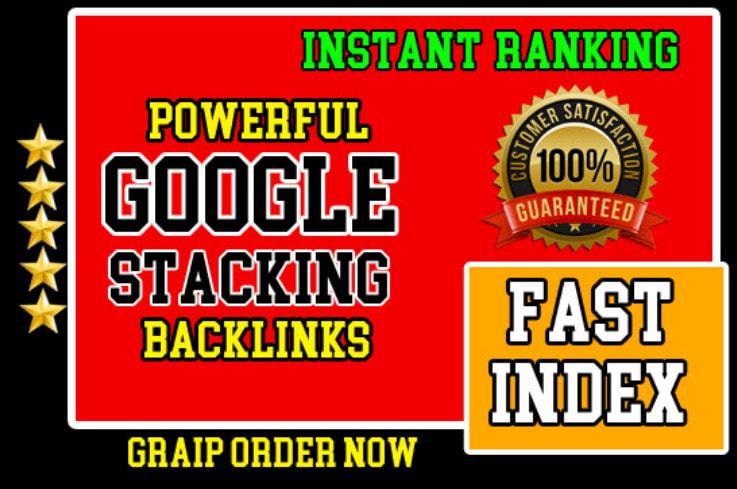 Advanced Google Entity Stacking Authority Permanent SEO Backlinks
