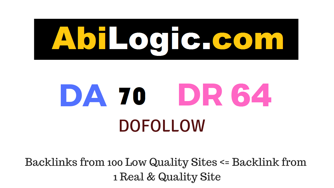 Write And Publish Guest Post On Abilogic. com DA70