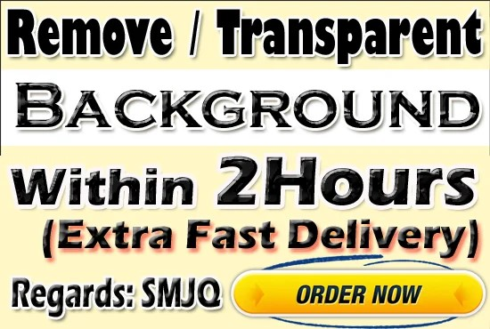 I will remove background from your images very fast