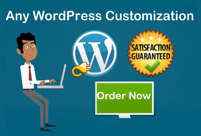 I Will Build A Responsive Wordpress website,  wordpress customization and design wordpress website