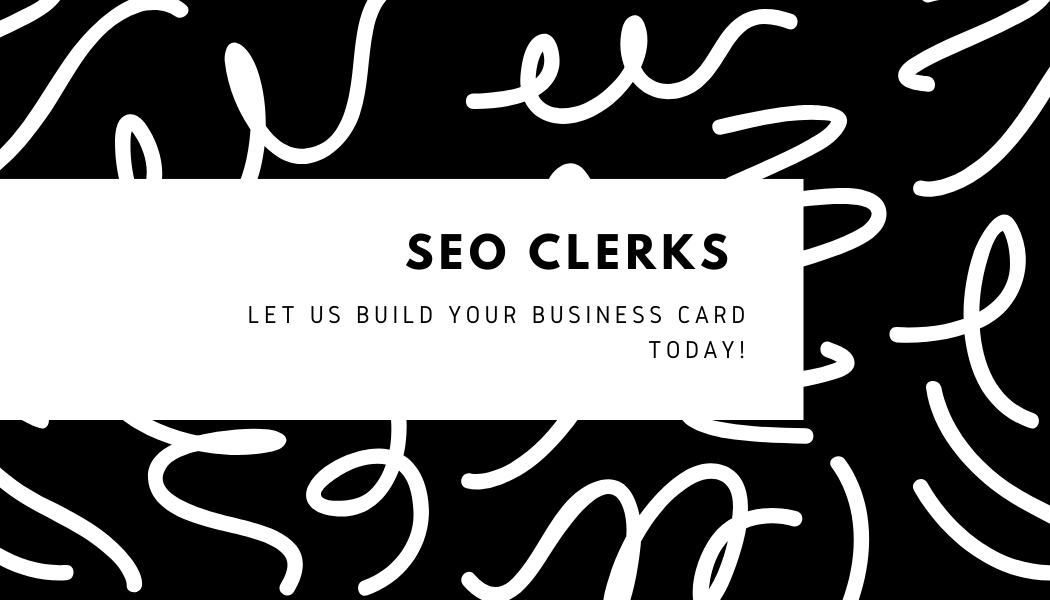 Just leave a brief description of your business and we'll create your business card for you