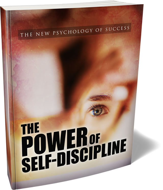The Power of Self Discipline eBook with Full Master Resell Rights