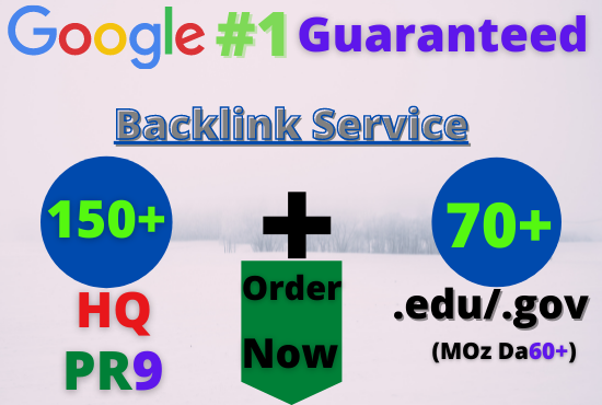 Buy 220+ up to pr9, edu dofollow backlinks For boost your website Google Ranking