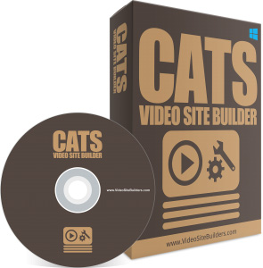 Cats Video Site Builder. video site all about cats,  then this software will generate a video site in