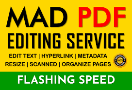 I will edit PDF documents,  modify,  alter scanned jpg,  pdf texts and data