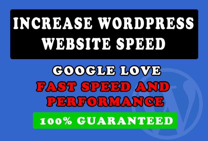 I will speed up your WordPress website in 24hr