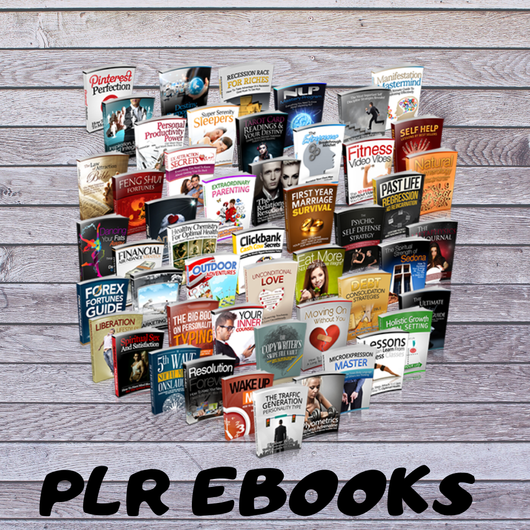I will give you 375 plr ebooks on different niches