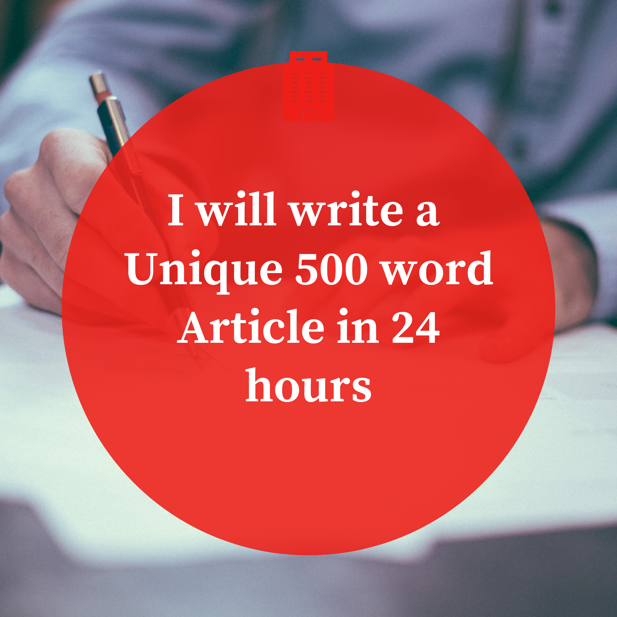 I will write an SEO article of 1000 words in 24 hours