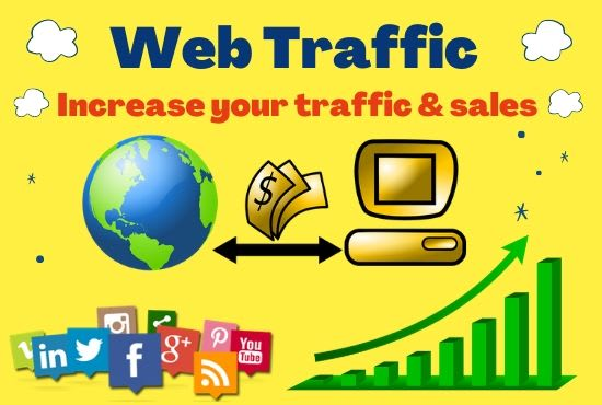 Get Organic Keywords TARGETEDr 1Year Traffic From Google, Youtube Web VIsitors To your website