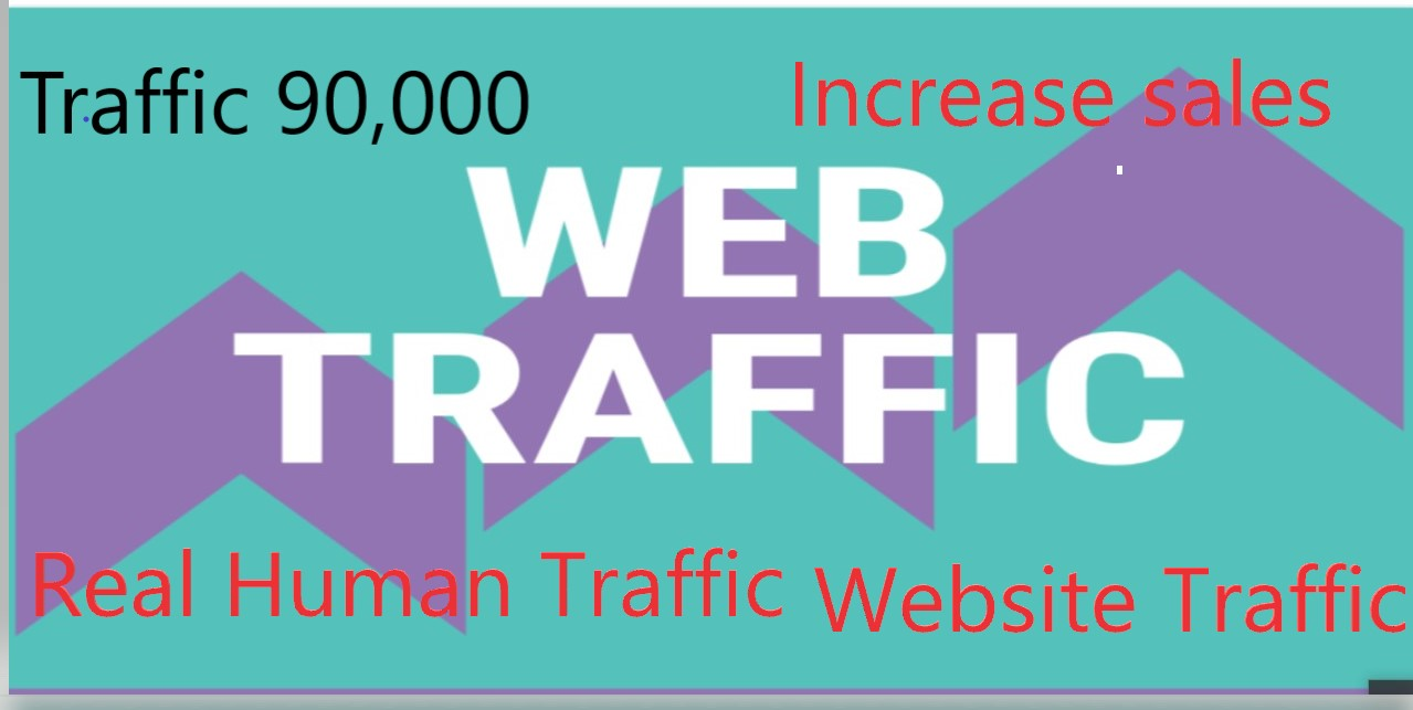 Traffic 90,000 Real Human Traffic WORLDWIDE Traffic to your site