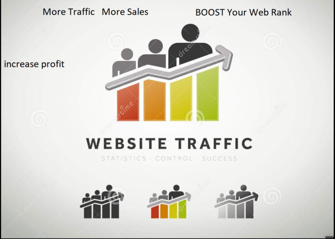 Get Real Human Traffic for 30 Days with Search Keywords Digital Marketing / Web Traffic