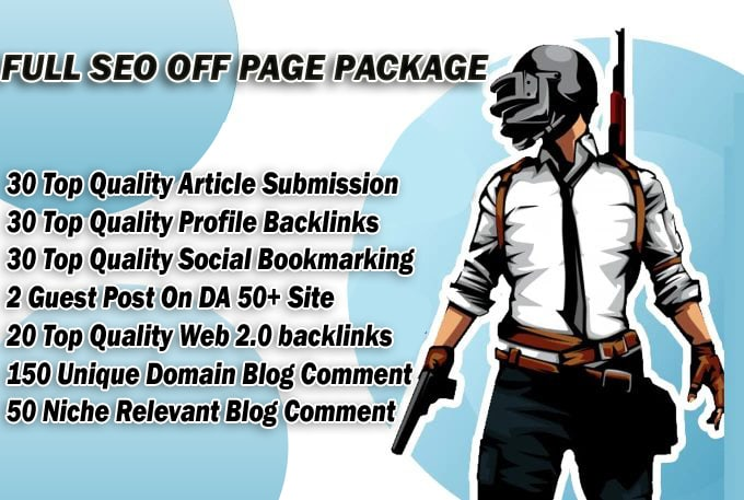 I Will Provide Full SEO Package For Google Top Ranking