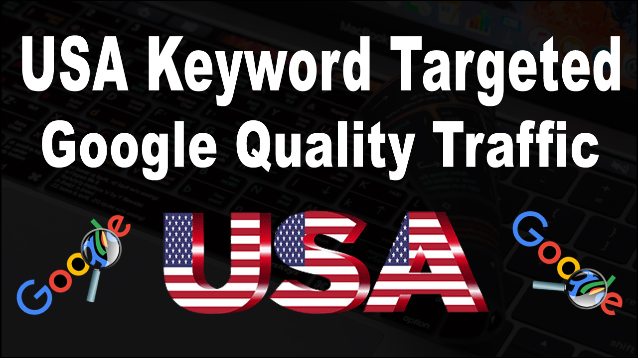 Unlimited Keyword Targeted real Human Google traffic for 30 Days
