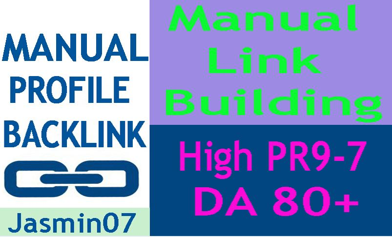 High Authority 60 Manuall Profile Backlink DA60+ PR9-6