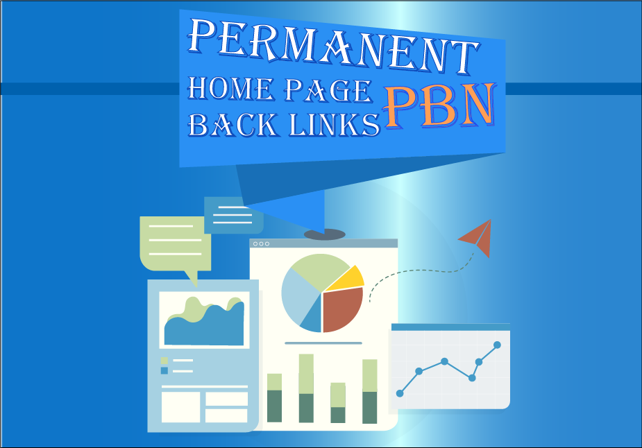 I Will Build Permanent 5 High DA,  PA,  TF,  CF,  DR,  PR,  Home Page PBN Backlink