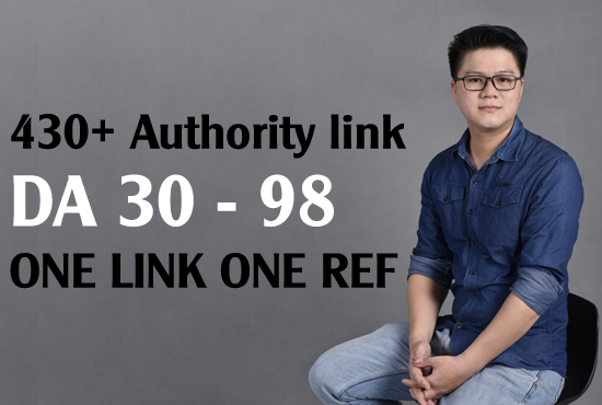 [Entity Building] 430 one link one ref authority link Da 30 - 98