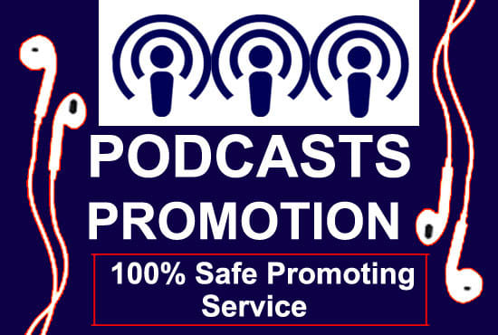 I will do promote and advertise your podcast ios app install and rating