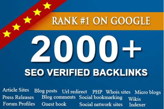 provide 2000 Social Network Profile Backlinks from pr9 websites