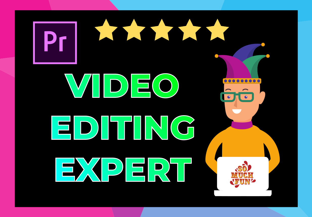 Professional Video Editng in 6 hours,  yoututbe,  streaming,  gaming,  webinar,  AskReddit,  memes videos