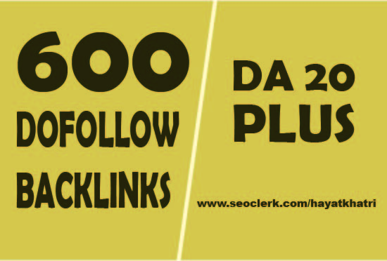 I will submit 600 highly DA-PA dofollow blog comment backlinks
