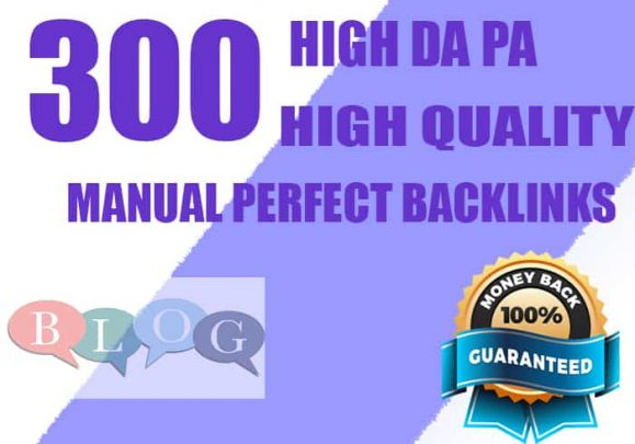 I will do 300 blogcomments high DA PA High Quality Manual Perfect Backlinks