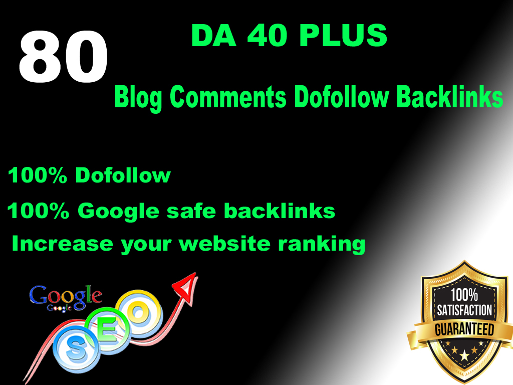 i will 80 dofollow blogcomment high backlinks DA 40 plus