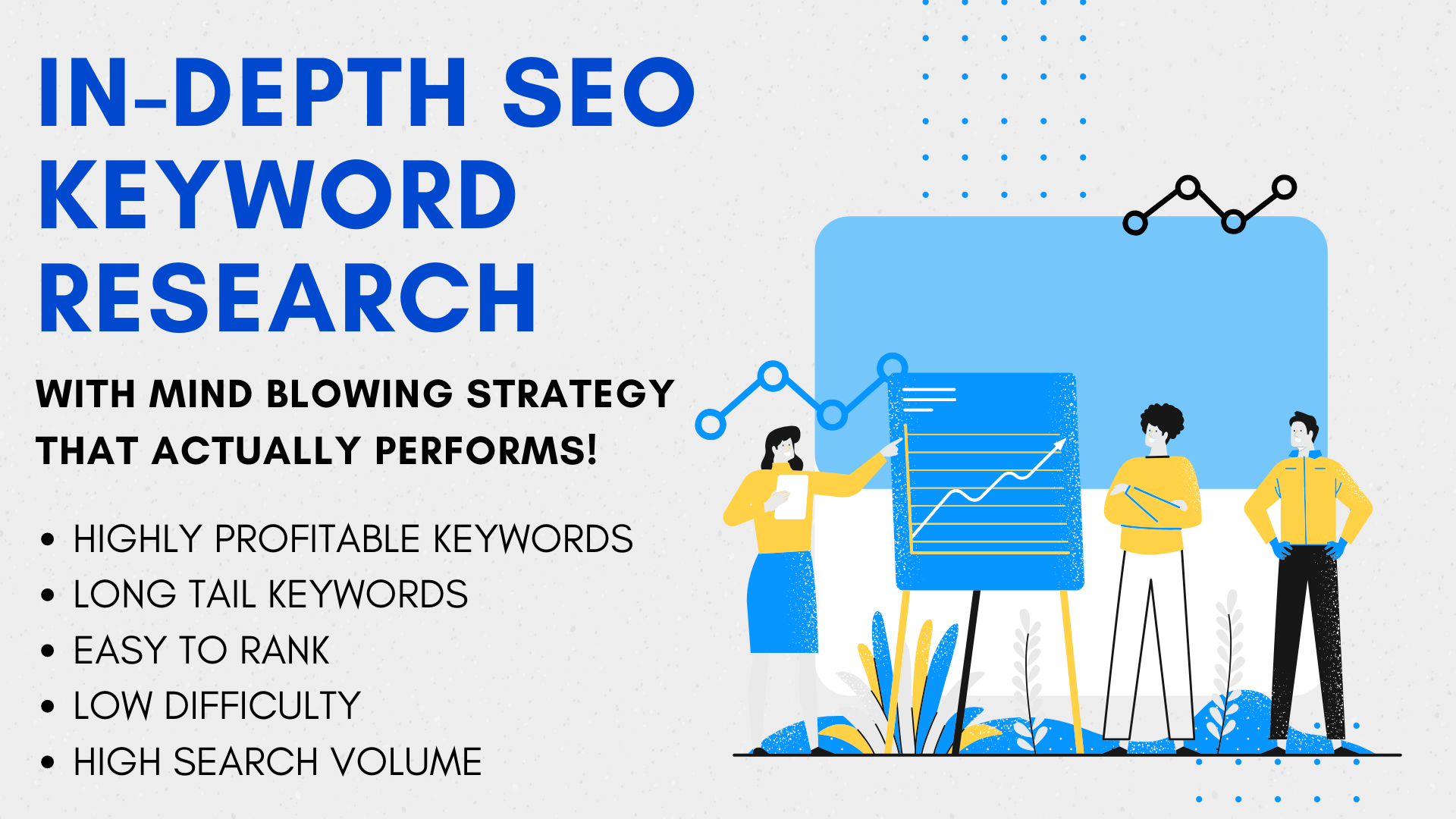 I will do indepth SEO keyword research to find GOLDMINE Keywords