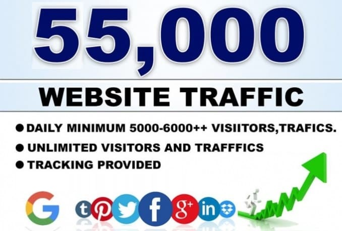 55000 USA/UK/CA Top Country Web Traffic For 10 Days Sowing Google Analytic Or AdSense Page