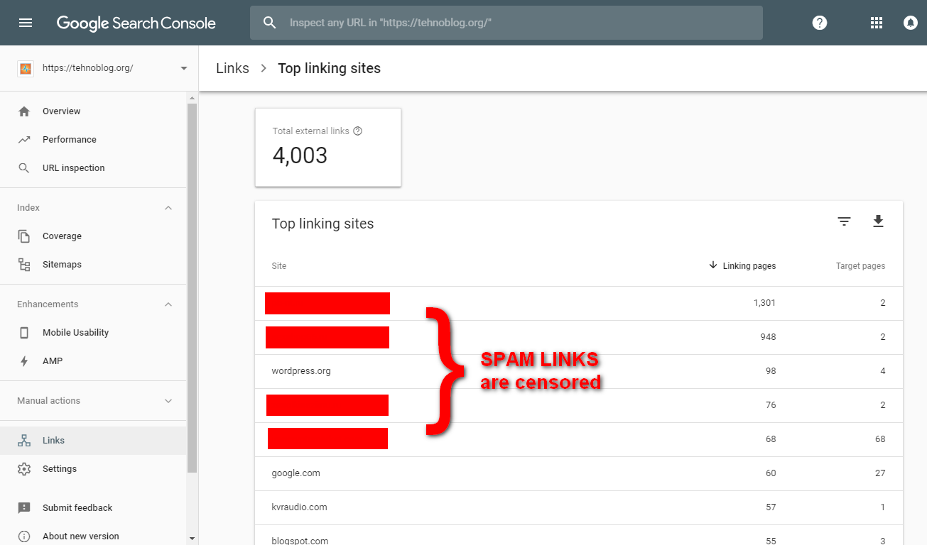 i will disavow spammy bad backlinks from your site