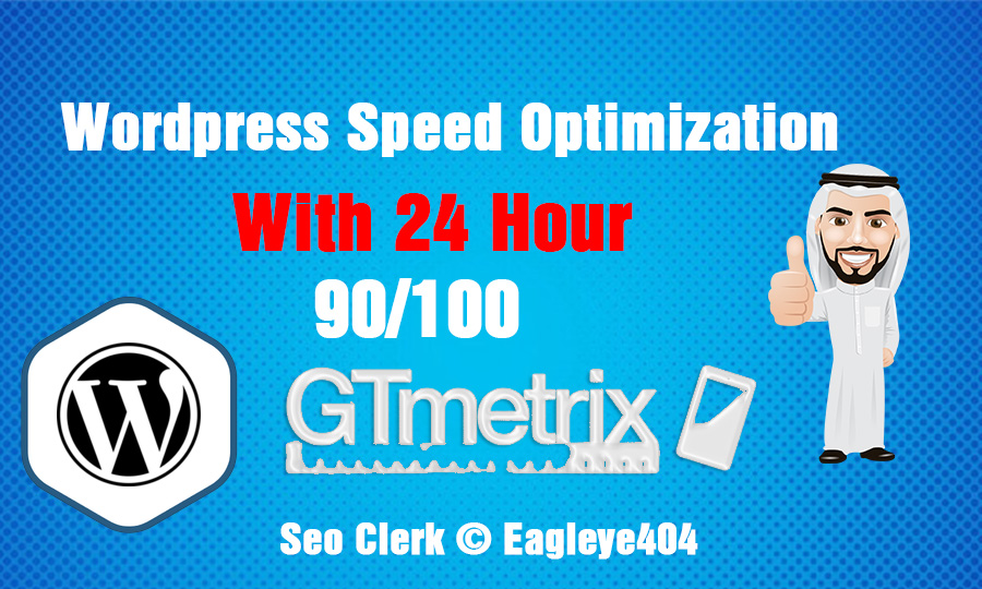 I will Provide you wordpress site speed optimization with gtmetrix