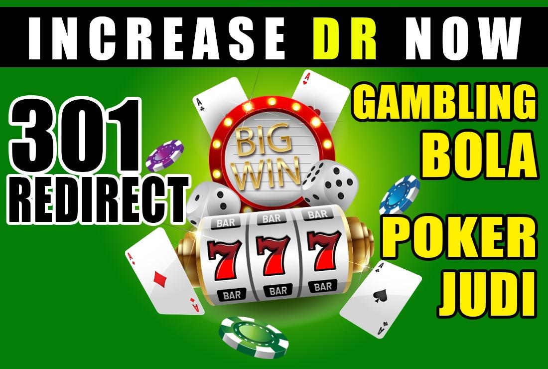 Build High Authority Casino / Poker Blog 301 Redirect SEO Backlink DR/DA 50