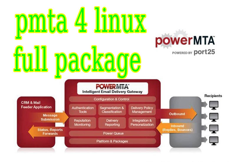 I will give you pmta 4 linux full package withe file how to install