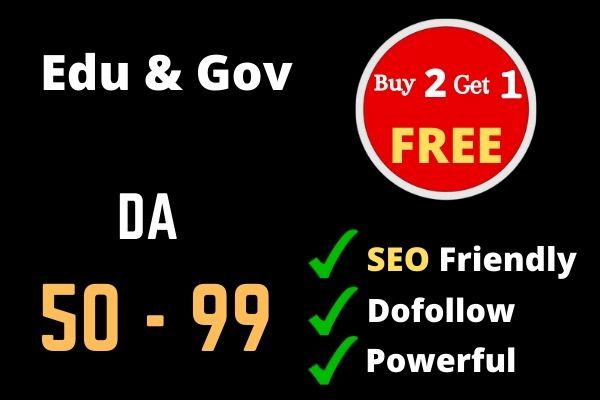 I Will create 20 Dofollow Edu and Gov backlinks with high DA PA