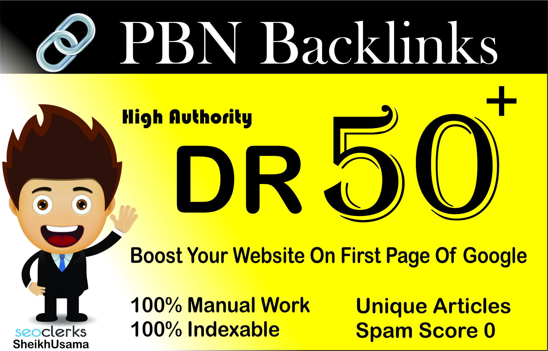 i will do 3 high DR 50+ HOMEPAGE DOFOLLOW SEO PBN BACKLINKS