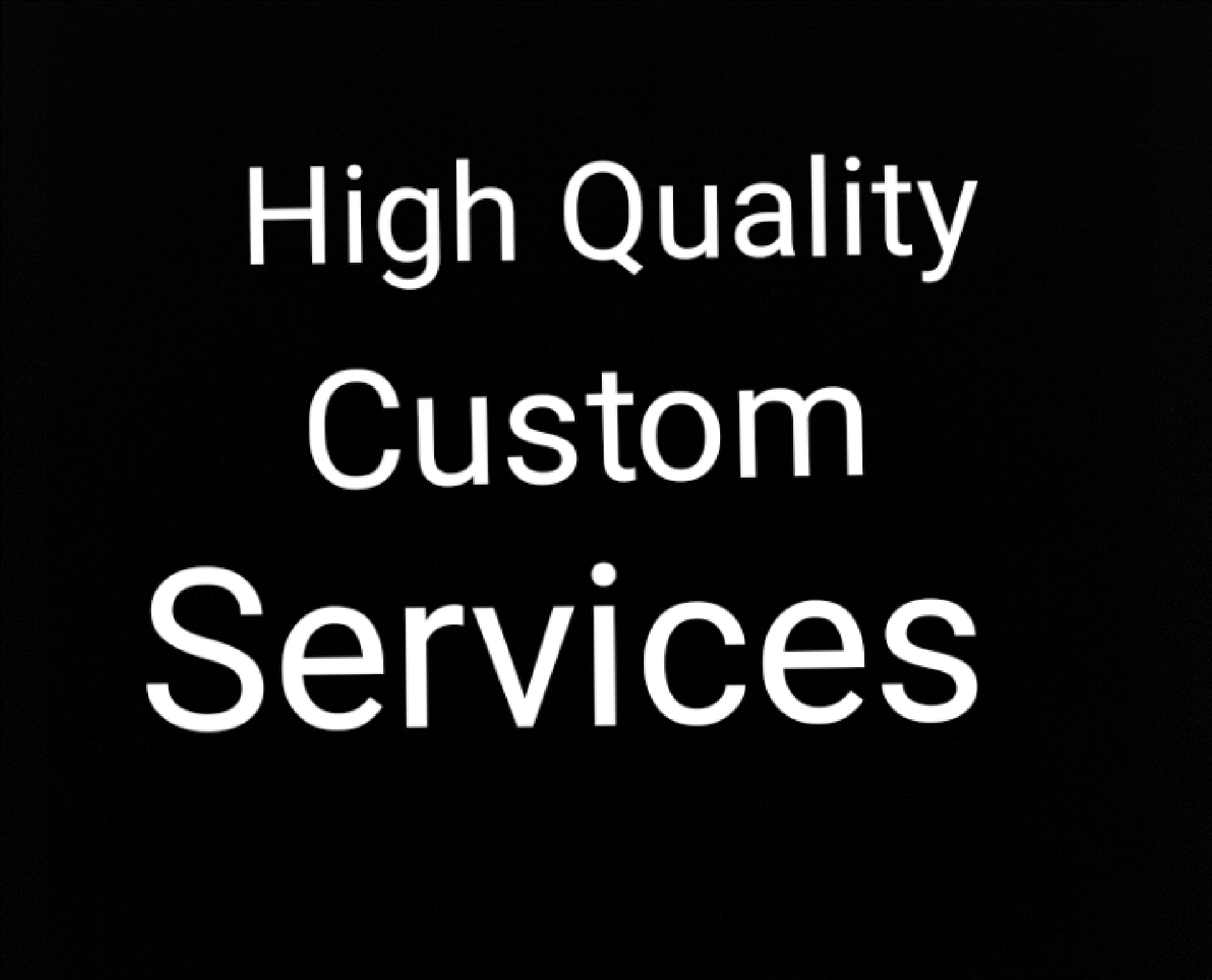 High Quality Custom Service real and Fast delivery