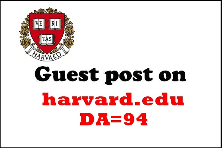 Provide Guest Post On Harvard. edu Harvard Da 94
