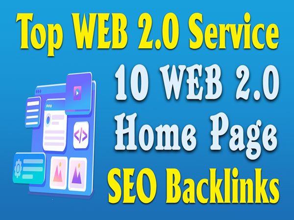 10 Web2.0 Homepage Seo Backlinks Web 2.0 PBN