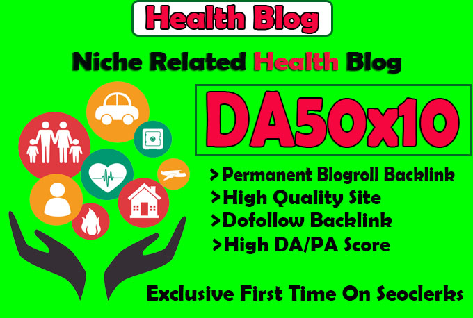 give you da50x10 site health blogroll permanent