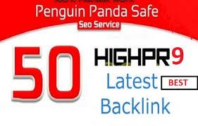 High Quality Top Ranker 50 PR-9 Backlinks Service 2021