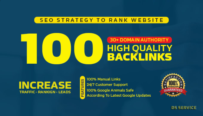 l will do create 100 backlinks 50 pr9 20 edu/gov and 30 bookmarks DA 80-100