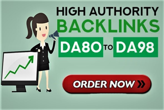 I will provide high authority quality SEO dofollow backlinks