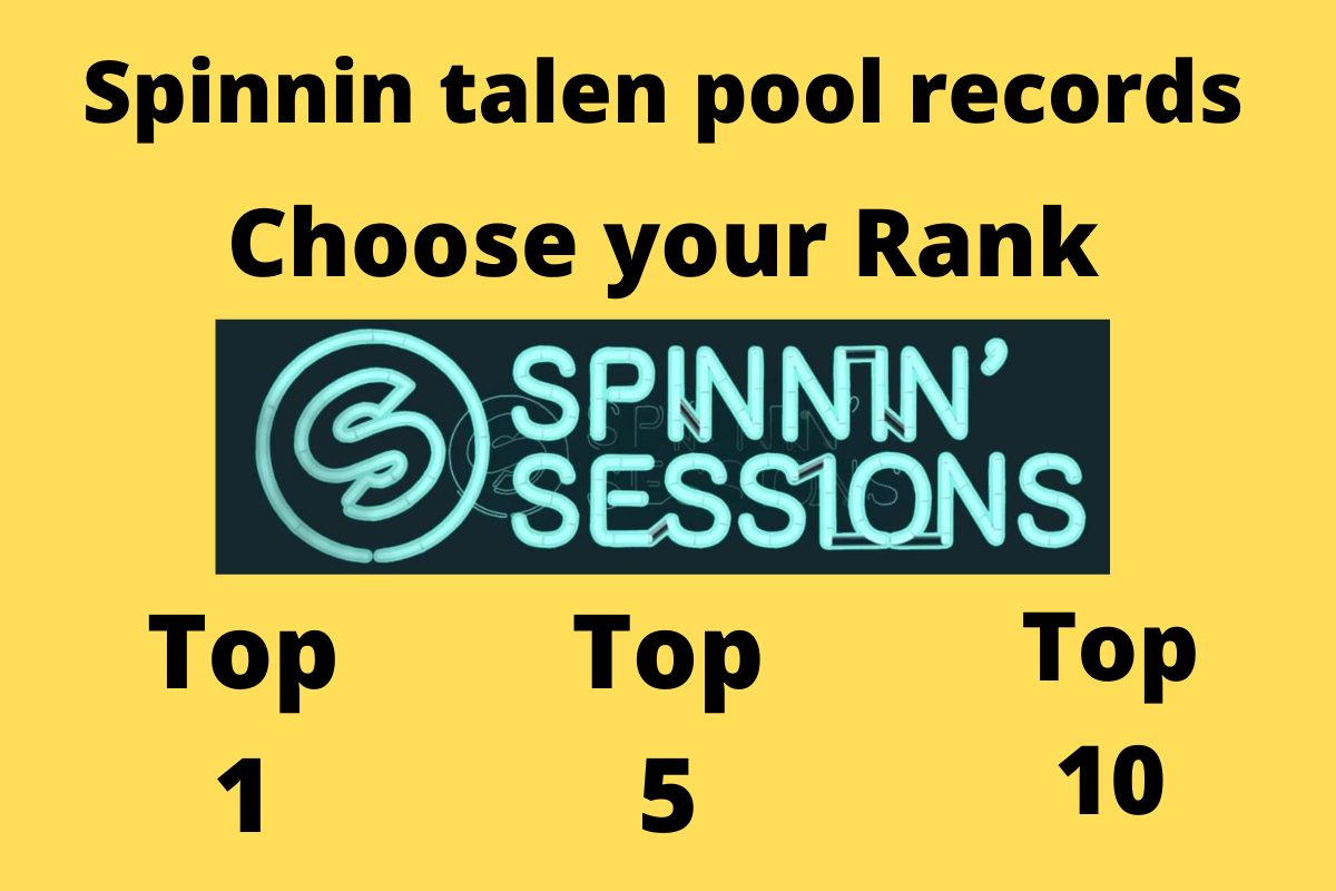 SUPER FAST 150 spinning records talent pool comments or votes from real USA people