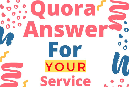 Posting High Quality 22 Quora Answer with backlinks