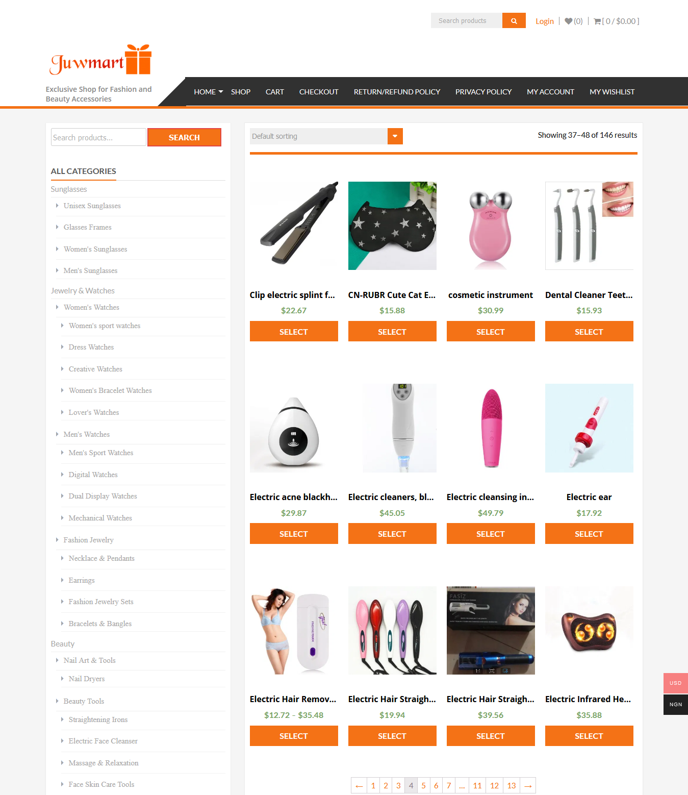 I will create a professional wordpress website and e-commerce website for you